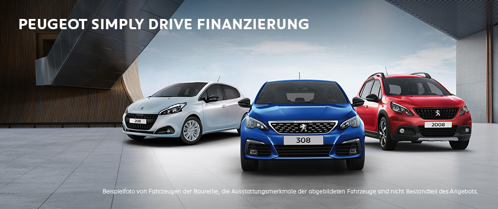PEUGEOT Simply Drive Finanzierung